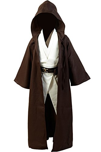 Jedi Costume Girl - CosplaySky Star Wars Jedi Robe Costume Child Version Large
