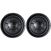 2) Pioneer 2400 Watt 10 Inch Subwoofers Champion Series SVC Car Subs | TS-W261S4