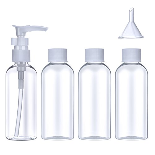 5 pieces Travel bottle container pouch - 9