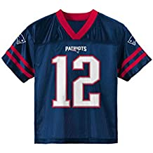 OuterStuff Tom Brady New England Patriots  12 Navy Youth NFL Player Home  Jersey 657d3c49f