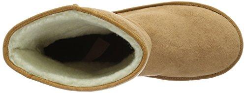 Rieker Y7881, Botas Efecto Arrugado para Mujer Marrón (antilope / 20)