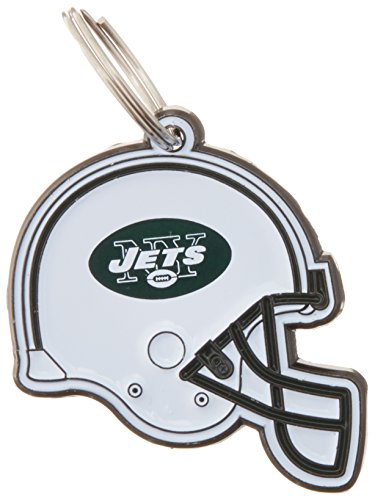 (NFL Dog TAG - New York Jets Smart Pet Tracking Tag. - Best Retrieval System for Dogs, Cats or Army Tag. Any Object You'd Like to Protect)