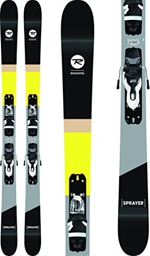 (Rossignol Sprayer Skis w/Xpress 10 Bindings Black/White Mens Sz 178cm)
