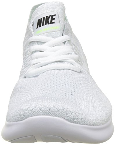 outlet shop for free shipping popular NIKE Women's Free RN Flyknit 2017 Running Shoe White/Pure Platinum/Black-m outlet fashion Style buy cheap for cheap outlet real HbUwX8i