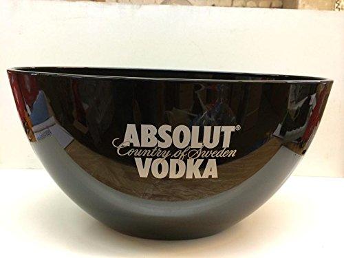 Absolut Vodka Eisschale Eisbox SCHWARZ