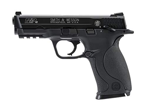 Smith & Wesson M&P 40 .177 Caliber BB Gun Air Pistol, Black, Blowback Action (Smith And Wesson M&p 40 Spring Airsoft)