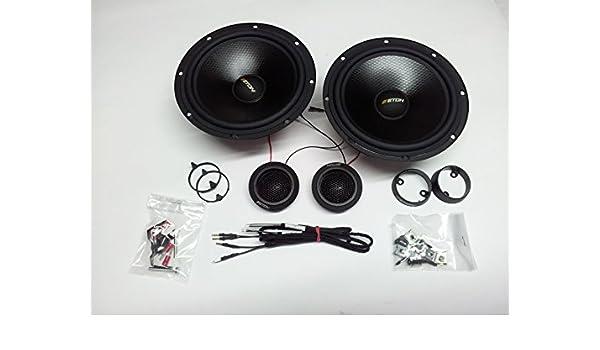 Sistema de audio radion 165 16,5 cm 2-vías komposystem