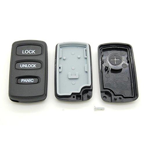 Carcasa para mando a distancia 3 botones Mitsubishi Pajero ...