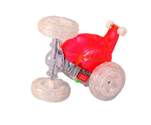 Mindscope Turbo Twister PULSE RED Radio Control RC Stunt Action Vehicle 27 MHz