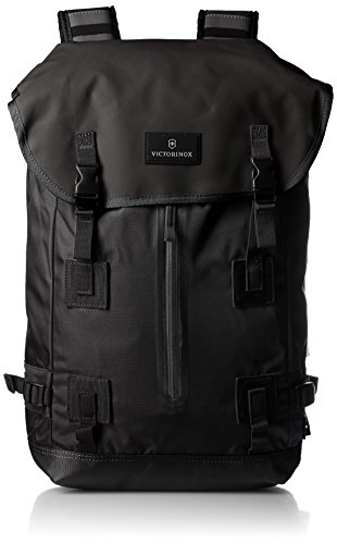 - Victorinox Luggage Altmont 3.0 Flapover Drawstring Laptop Backpack, Black, One Size