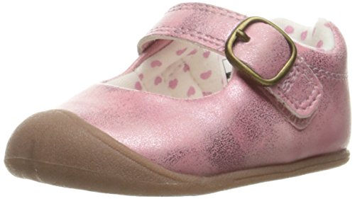 Carter's Every Step Stage 1 Girl's Crawling Shoe, Sarah, Pink, 2 M US Infant