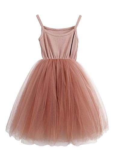 (LYXIOF Baby Girls Tutu Dresses Sleeveless Princess Dress Infant Tulle Dress Toddler Sundress Pink A 3)