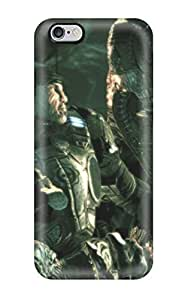 Flexible Tpu Back Case Cover For Iphone 6 Plus - Gears Of War Warrior Video Game Other