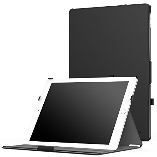iPad Pro 12.9 Case - MoKo Slim-Fit Multi-angle Folio Cover w