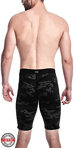 DRSKIN Compression Cool Dry Sports Tights Pants Shorts Baselayer Running Leggings Rashguard Men