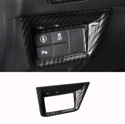 UltaPlay Carbon Fiber Style Car Lower left Middle Console Cover Trim Fit For Honda Accord 2018 Car Interior Accessories Styling