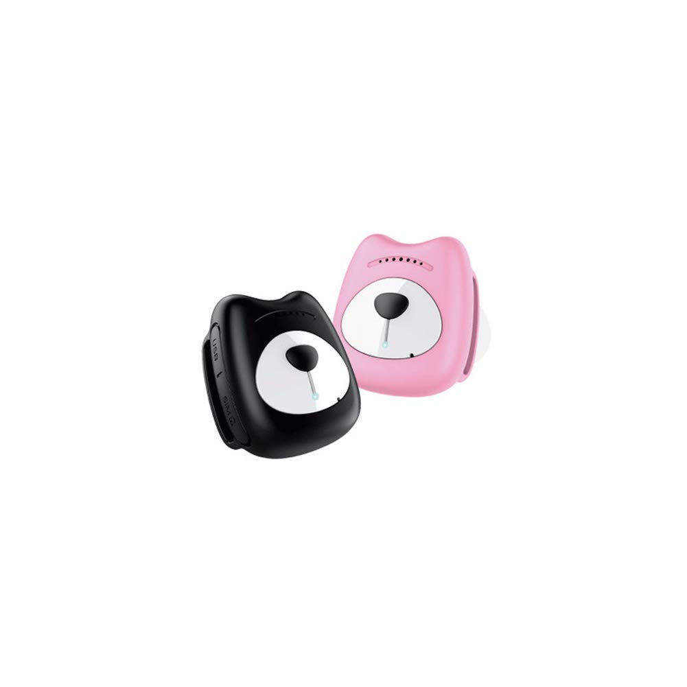 Pet GPS Tracker, GPS Locator, GPS pet Locator Tracker, cat Dog Collar Anti-Lost Device, Waterproof Tracker, Suitable for Pets Such as Large, Medium and Small Dogs-Pink by GBY