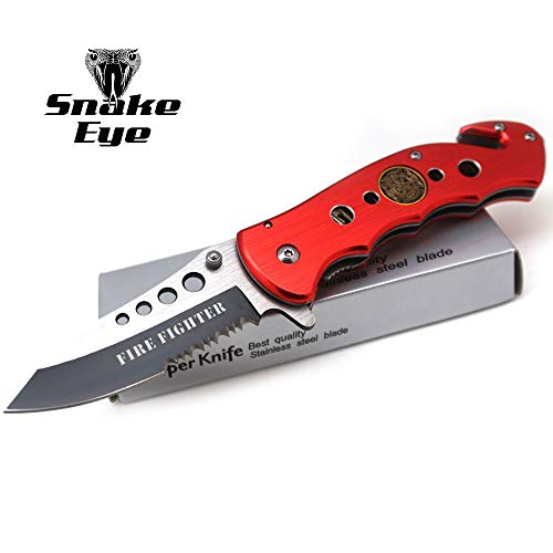 Snake Eye Tactical Assisted Branch Rescue Folder Action Assist Knife 4.5