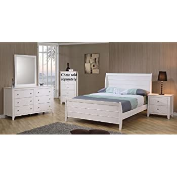 4pc full size sleigh bedroom set cape cod for Cape cod style bedroom furniture