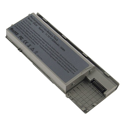 Latitude D620 - Fancy Buying Laptop Battery For Dell Latitude D620 D630 D630C D630N D631 D640 PC764, JD634, 312-0383, 451-10298 P/N's: PP18L RD300 RD301 PC764 TC030 TD175-12 Months Warranty (6 Cells 11.1V 5200mAh)