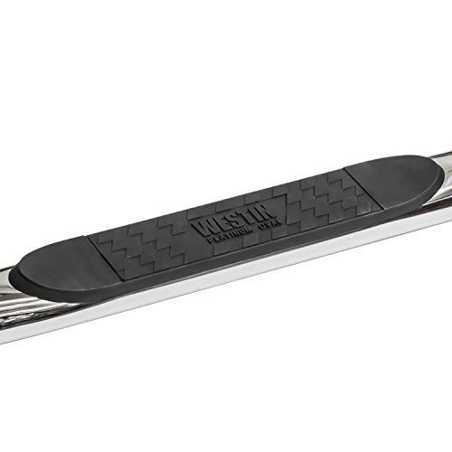 - Westin 24-54030 Platinum Oval Short Bed Step Bar for GM 1500/2500