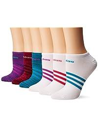 Adidas Mujer Superlite no Show–Calcetines (Paquete de 6)