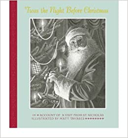 Twas The Night Before Christmas Matt Tavares 9781844285648
