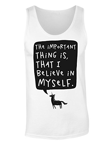 The Important Thing Is, That I Believe In Myself. T-shirt senza maniche per Donne Shirt