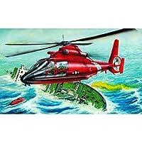 U.S.C.G. HH65-A Helicóptero de búsqueda y rescate de delfines 1-48 por Trumpeter