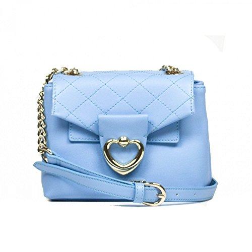 PORTÉ ÉPAULE LOVE MOSCHINO Femme JC4322PP03KT0703 -,703 Bleu clair