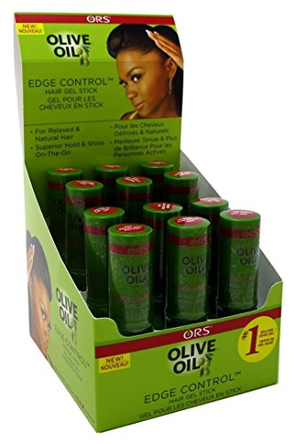 Ors Olive Oil Edge Control Gel Stick 0.45oz 12 Pieces