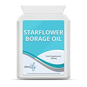 Starflower Borage Oil 500mg - 240 Capsules by Neulife Health and Fitness Supplements