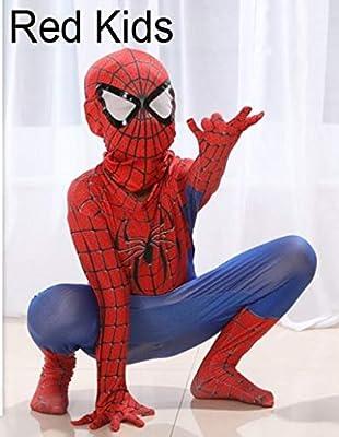 Desconocido Disfraz de Spiderman para niños 3D, diseño de la ...