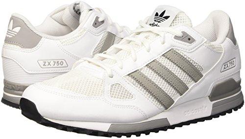 solid Adidas Ginnastica Uomo Zx Bianco Scarpe White 750 Basse core Black ftwr Da Grey qcavwqC