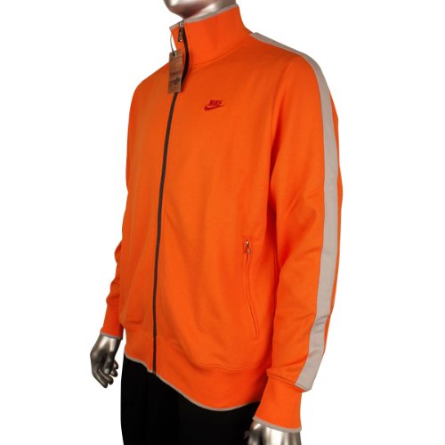 aa6afeea12 Nike Mens Retro Orange N98 Vintage Track Suit Top Sports Jacket Size XXL   Amazon.co.uk  Sports   Outdoors