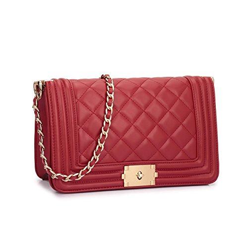 MyLux® Connection Fashion Women Clutch Handbag Purse (2457rd)