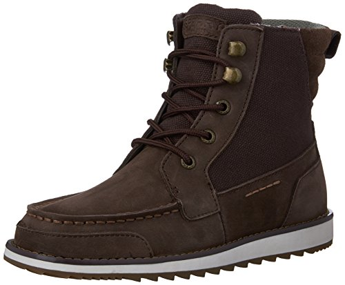 Sperry Dockyard Boot (Little Kid/Big Kid), Brown, 5 M US Big Kid