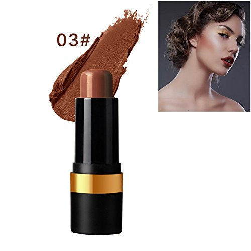 Ofanyia Natural Matte Eye Face Shading Stick Concealer Stick Highlighter Stick Contour Stick Brightening Corrective Corrector Bronzer Pen Pencil