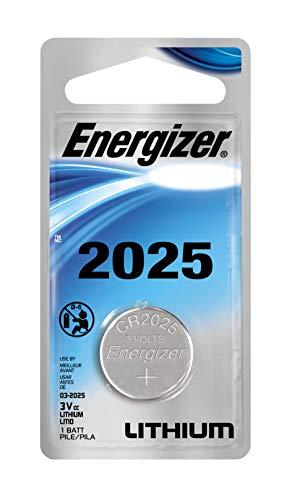 Energizer ECR2025BP Electronic Lithium 3V Batteries, Black/R