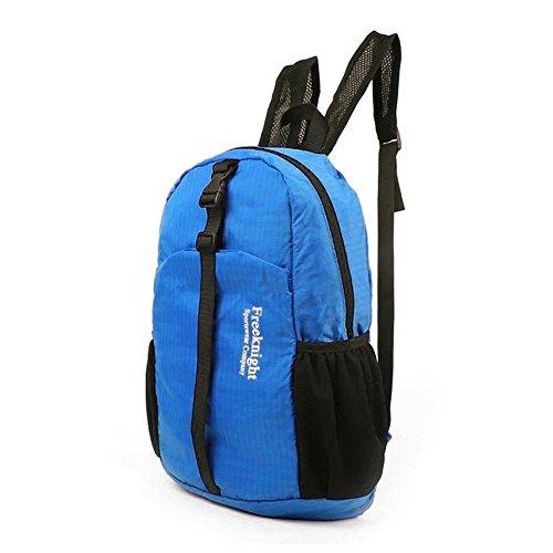 30L Tasche Rucksäcke Rucksack Daypack Bag Rucksack Backpack wasserdicht faltbarer einfach leicht geeignet für alle Damen und Herren und Kindern für Sport Arbeit Blau xE8XUXMb2