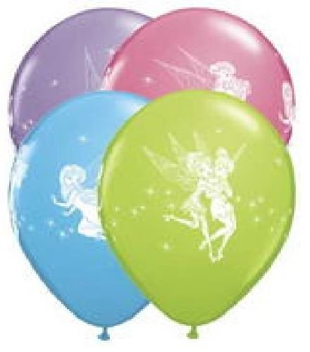 - LoonBalloon TINKERBELL TINK Fairies FAIRY (6) Package LATEX Helium Quality Party BALLOONS