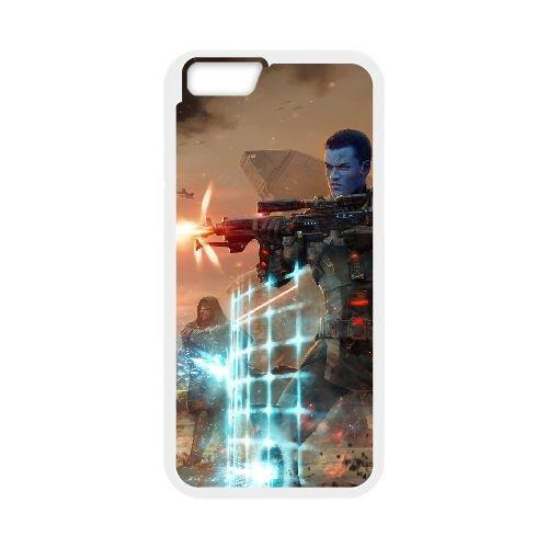 Star Wars The Old Republic coque iPhone 6 4.7 Inch cellulaire cas coque de téléphone cas blanche couverture de téléphone portable EEECBCAAN00731