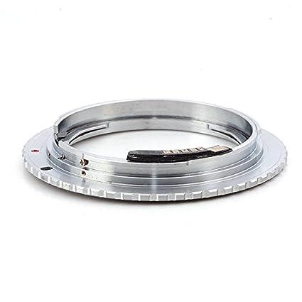 Pixco Pro AF Confirmation Chip Adapter Nikon F Mount Lens to Canon EOS  Camera 600D 550D 450D 50D 40D 30D 5D II