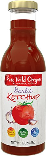 Pure Oregon Ketchup Garlic Ounce