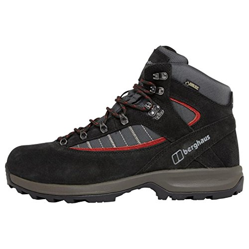 Explorer Gtx Hiking Boot - Berghaus mens Berghaus Mens Explorer Trek Plus GTX Waterproof Walking Boots, Black Black/Nova UK 9 - US 10, EU 43