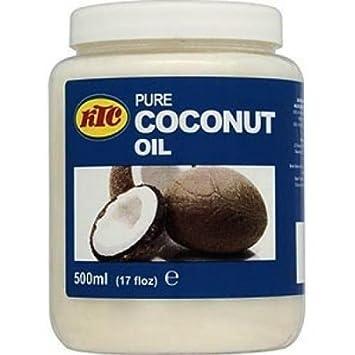 Amazon.com: KTC tarro de 16.9 fl oz 100% puro aceite de coco ...
