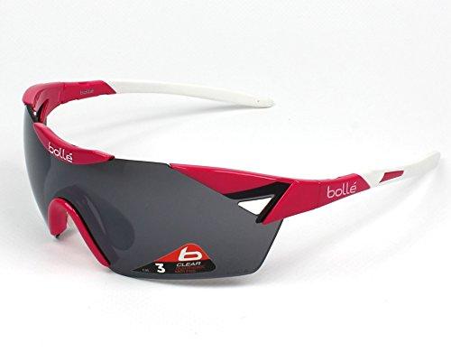 Bolle 6th Sense Small Sunglasses, Magenta/White TNS Gun Oleo - Gun Tns