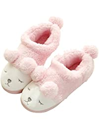 64ea16d37c9 Amazon.com  4 - Pink   Slippers   Shoes  Clothing