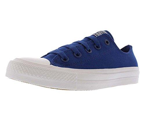 Converse Kids Unisex Chuck Taylor All Star II Ox (Big Kid) Sodalite Blue/White/Navy 7 M US Big -