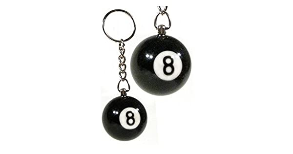 Amazon.com: 2 piezas Número Ocho bolas de billar BILLARDS ...